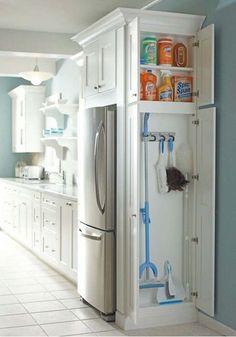 Mop cupboard