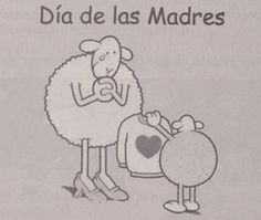 Dia de las Madres (de Colombia) Spanish Jokes, Spanish Class, Teaching Spanish, Thematic Units, Humor Grafico, Beautiful Drawings, Holiday Traditions, My Happy Place, The Funny