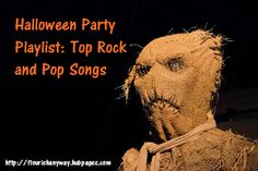Halloween Playlist:  31 Top Rock and Pop Songs To Play At Your Halloween Party