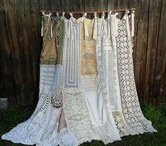 Shower Curtain/Shabby Chic/Curtain/Home Decor/Bathroom/Vintage