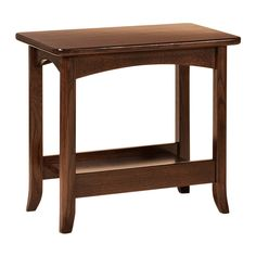The Lakeshore end table is made of American hardwoods. Many occasional table styles with quality construction and finishes. Our products are made in the USA. Small End Tables, Pink Home Decor, Amish Furniture, Distressed Furniture, Types Of Wood, Entryway Tables, Hardwood, Drawers, Cool Designs