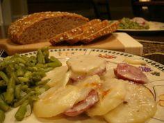 Mennonite Girls Can Cook: Potato and Farmer Sausage Casserole