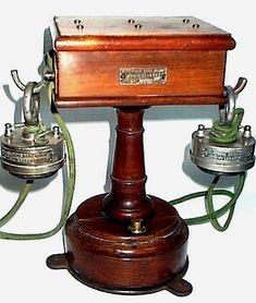 Téléphone Mors Adbank de 1896