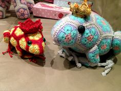 Heidi bears frogs hand made by Froglife's very own Marie