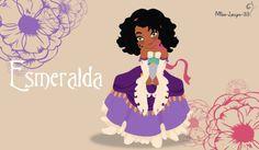 No-Disney Young Princess ~ Esmeralda by miss-lollyx-33