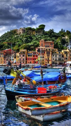I see this as a painting, just beautiful !....Portofino, Italy