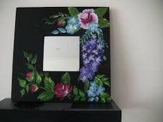 Image result for vintage onestroke painted  flower greeting cards