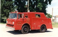 1967 Ford Gerstenslager C-600 rescue vehicle...very small...