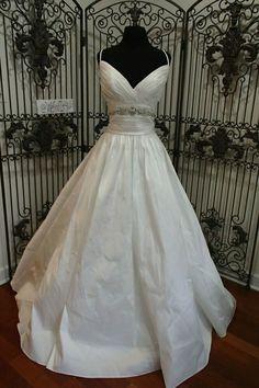 b447bea4bae3 S503W MAGGIE SOTTERO STEPHANIE SZ 16 IVORY $928 BEAUTIFUL WEDDING DRESS  #fashion #clothing #