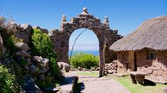 Taquile island - lake Titicaca