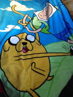 My Awesome Adventure Time Blanket