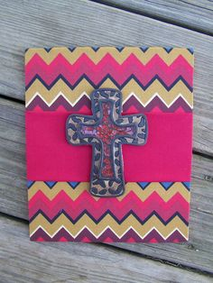 A sample of what will be on site at #EtsyFest15 on Saturday, April 25 in Hillcrest! @Etsy #etsy #etsylr #handmade #shoplocal #livelocal Chevron cross deep red by MarshalBoards on Etsy