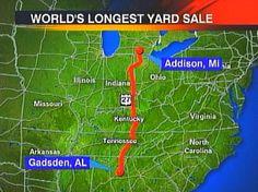 """World's Longest Yard Sale"" runs through Hamilton County - WRCBtv.com   Chattanooga News, Weather & Sports"