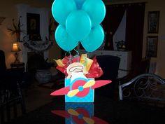 Airplane Pilot  Plane Birthday Party Centerpiece by playpatterns. , via Etsy