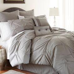 8-Piece Ella Comforter Set in Gray//