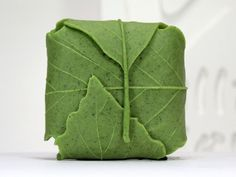 Leaf II handmade design soap mold by WilliamhouseKorea on Etsy