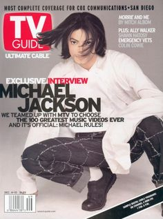"""TV Guide Ultimate Cable - """"Exclusive Interview Michael Jackson""""  December 4, 1999"""