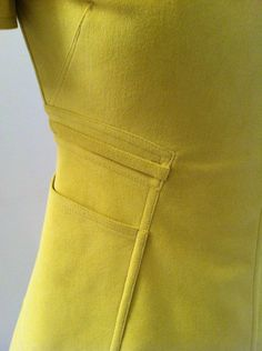 V1404 by Ralph Rucci. Detail shot of front waist area. #voguepatterns.