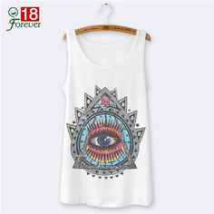 44d6eb251 Character Harajuku 3D Print Fashion 2016 Woman Tank Tops Summer Style  Sleeveless Sexy Tops For Women Tank Top White Camisetas