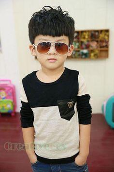 Fashion-Kids-Toddlers-Boys-Black-Gray-Metal-Leoperd-Head-100-Cotton-Tops-T-Shirt