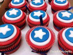 Cupcake Capitão América