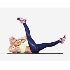 8 Celebrities' Top Trouble Zone Toning Exercises