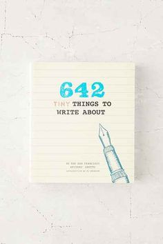 642 Tiny Things To Write About Diary By San Francisco Writers Grotto - Urban Outfitters