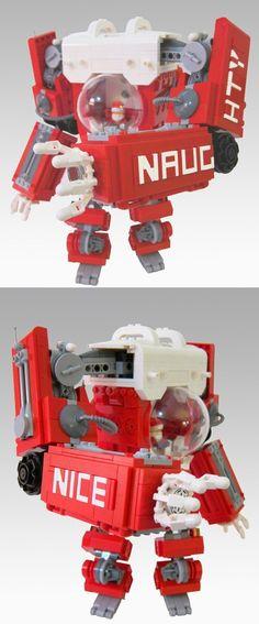 LEGO Santa Mech Suit