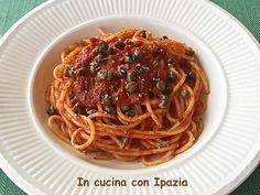 Spaghetti alla pizzaiola salentina