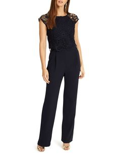 Phase Eight Cortine Jumpsuit, Navy Phase Eight, Womens Fashion Online, Playsuits, Jumpsuits For Women, Boho Fashion, Women Wear, Feminine, Clothes For Women, How To Wear