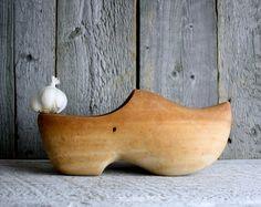 Hand Carved Dutch Clogs