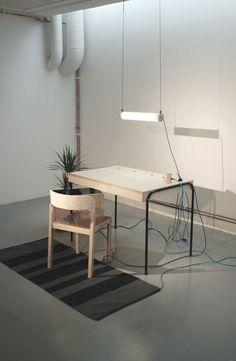 Estación de trabajo Unplugged / Eddi Törnberg