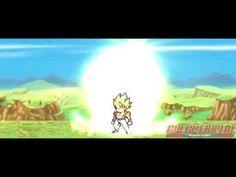 DragonBall Z - Gogeta vs Gotenks Fusion (Sprite Animation)