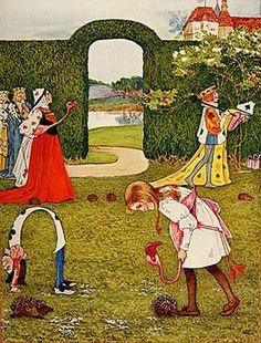 Alice in Wonderland by Millicent Sowerby (1907)