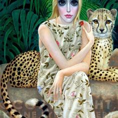 A HAPPY DAY IN PARADISE - MARGARET KEANE. Her personal story is fascinating, so be sure to 'google' her.