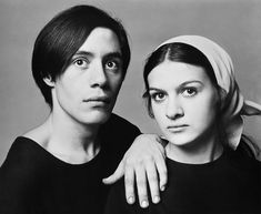"""Claude and Paloma Picasso, by Richard Avedon. Anne Paloma Picasso (born 19 April 1949) — is a French/Spanish fashion designer & businesswoman, best known for her jewelry designs & signature perfumes. She is the youngest daughter of famed 20th-century artist Pablo Picasso & painter and writer Françoise Gilot. Paloma Picasso's older brother is Claude (b.1947).     """"All children are artists. The problem is how to remain an artist once he grows up""""---Pablo Picasso"""