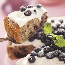 Blueberry cake - 5points
