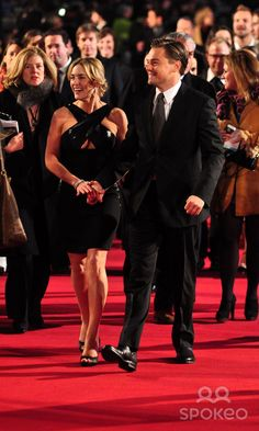 Kate Winslet and Leonardo DiCaprio Revolutionary Road UK film premiere held at the Odeon Leicester Square - Arrivals