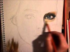 ▶ Surrealistic Color Pencil Drawing (undone) - YouTube