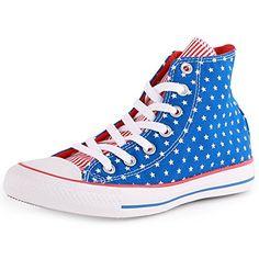 Converse Mens Chuck Taylor All Star Hi-Top Blue/White/Red Sneaker - 6.5 Men - 8.5 Women Converse http://www.amazon.com/dp/B00GXR058Q/ref=cm_sw_r_pi_dp_0DuXvb18TPXET
