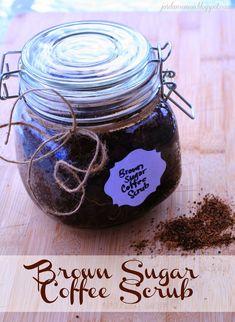 Brown Sugar Coffee Scrub