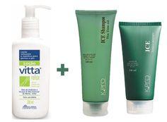 Kit Refrescante MULHERES - Kit Refrescante Mulheres – Um creme para o corpo, um shampoo e um sabonete líquido que dão máxima refrescância.