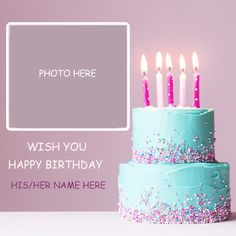 Best Friend Birthday Cake, Birthday Cake For Daughter, Birthday Wishes With Photo, Birthday Cake Write Name, Birthday Wishes With Name, Happy Birthday Status, Birthday Cake Writing, Happy Birthday Cake Pictures, Happy Birthday Wishes Cake