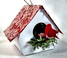 bird house ornament