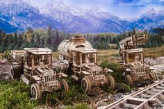 Buy now the UGEARS Truck UGM Rubberpunk, meaning a perfect blend of clockwork and steampunk worlds, only for and Free Worldwide delivery directly to your door with DHL Express, only from kooqie!