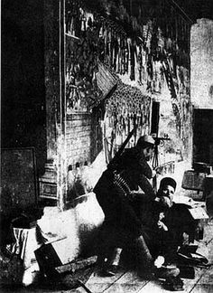 Albanian Nazi's were especially brutal to the Serb Orthodox clergy. On the picture murder of an Orthodox priest in Devic, WW2.