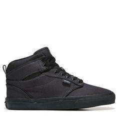 73c0b9c13bff97 Vans Men s Atwood High Top Sneakers (Black Black Twill) Skate Shoes