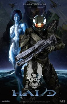 halo fan art | Halo Fan Art Triptych: Halo Version Revised 2.0 by ~rs2studios on ...