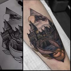 WEBSTA @ hogwartstattoo - Loving this tattoo by @jbarrtattoo. #HogwartsTattoo