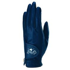 Glove It Ladies Golf Gloves (Left Hand) - Navy Clear Dot